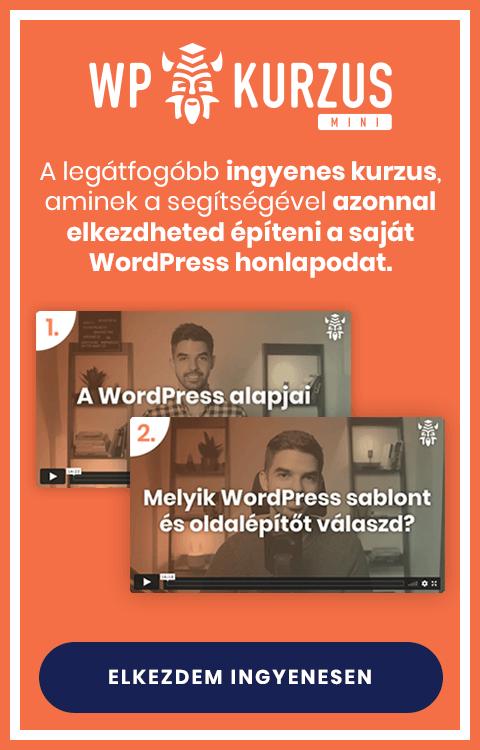 WPKurzus Mini oldalsáv