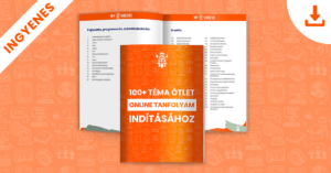 100+ téma ötlet online tanfolyam indításához