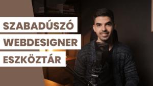 Szabadúszó webdesigner eszköztár