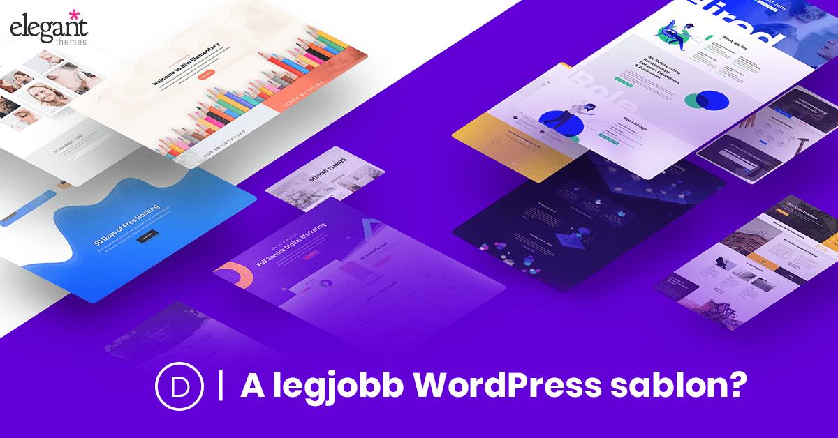 Divi a legjobb WordPress sablon?