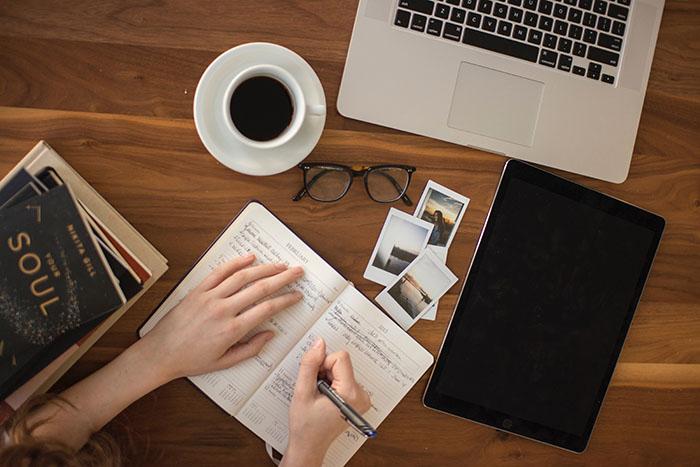Blogírás előkészületek