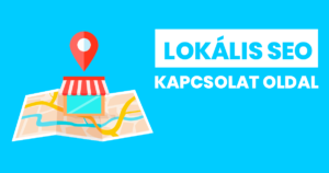 Lokális SEO - Kapcsolat oldal