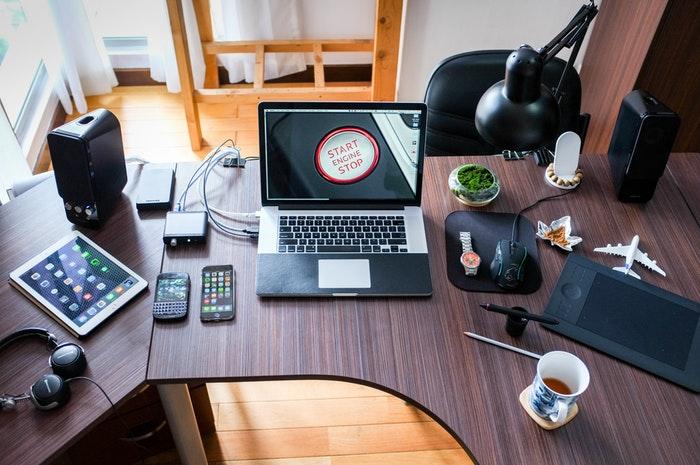 A marketinges asztala