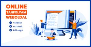 Online tanfolyam weboldal - technika, eszközök, költségek