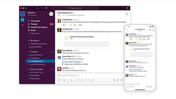 Slack céges kommunikációhoz