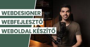 Webdesigner, webfejlesztő, weboldal készítő