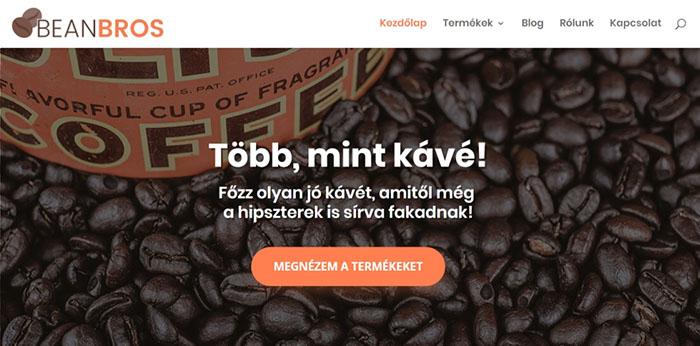 WooCommerce oldal példa