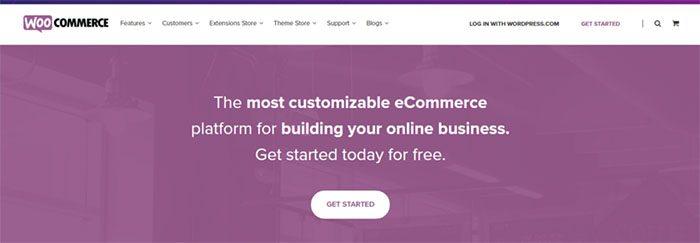 WooCommerce weboldal